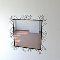 mirror ikea 3d x