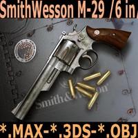 s w m-29 6in 3d model