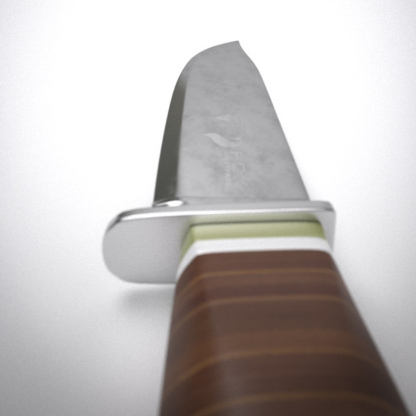 3d hunting knife - Hunting knife... by caracollo