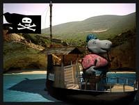 maya hippo pirate boat