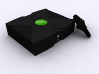 3d xbox model