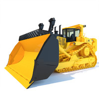 bulldozer dozer 3ds