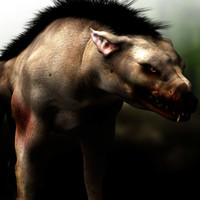 3d model hellhound hell