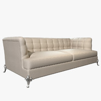 photorealistic sofa king 3d model