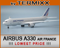airplane airbus a330 air france 3d c4d