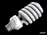 energy saving bulb 3d model
