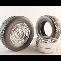 tire rim 3d model