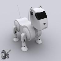 3d robo dog model