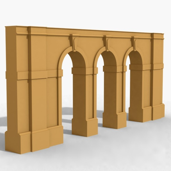 arches 3d model
