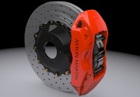 3d max brake disc aston martin