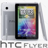 3d model htc flyer