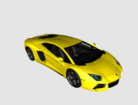 3d lamborghini lp400 model