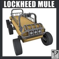 3d lockheed martin mule - model
