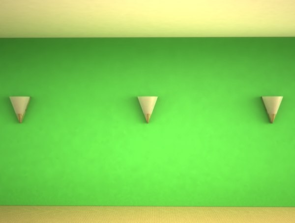 3d wall scones - NORDST BODIL WALL SCONES 2012... by VISuAL3DFX