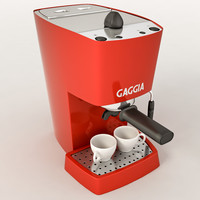 3ds max espresso machine