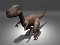 maya trex dinosaur