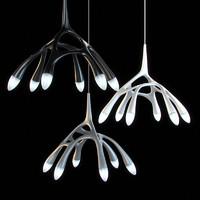 chrome lamps 15 3d max