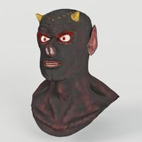 3d model devil head