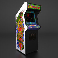 Centipede Arcade Low Poly