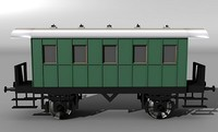 German railcar