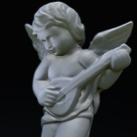 3d model marble angel