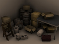 Game Ready Urban Props Pack