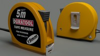 3d duratool tape measure