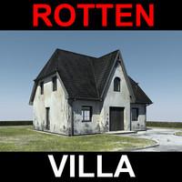 rotten villa 3d model