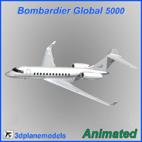 Bombardier Global 5000 Bouygues Group