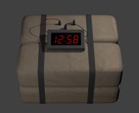 free explosive 3d model