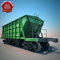 Covered Hopper Wagon 11-715