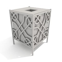 3d trash receptacle celtic