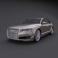 Stylish Audi A8 2011