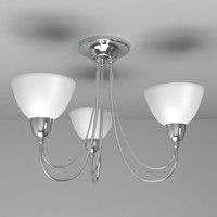3d lamp ceiling light