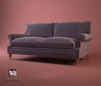 sofa artistic mayfair 3d model