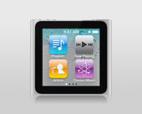 3d apple ipod nano 6g model