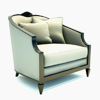 maya contemporary lounge chair -