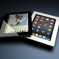 Ipad 2 & The NEW IPad - black&white