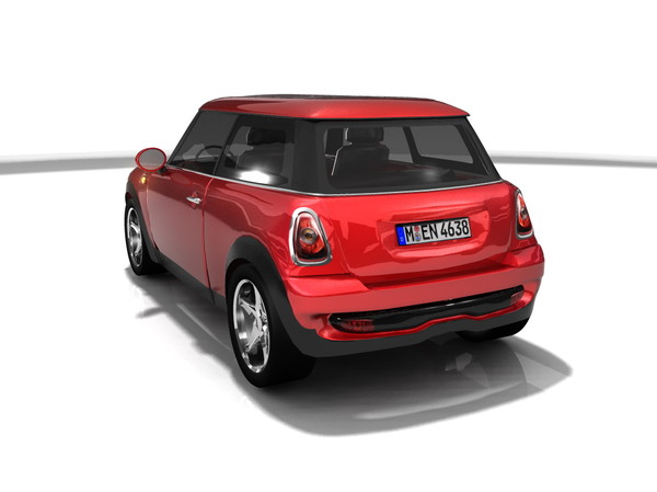 3ds max mini cooper - Mini cooper... by MS_RAY
