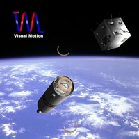 space vehicle omid iranian 3d 3ds