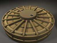 maya desert landmine