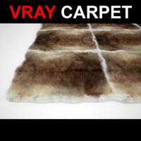 3d model rug strands