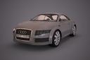 Audi Nuvolari quattro 3D models