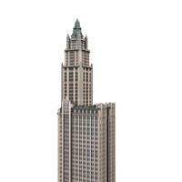 woolworth new york 3d model