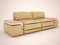 3d model of sofa interior