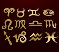 3d zodiac signs