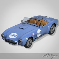 car ac cobra 3d max