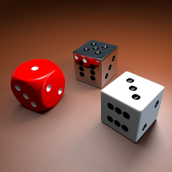 3d model dice - Dice... by Reticulum