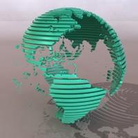 globe financial 3d max