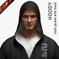 Cloth Hoodie - Jacket with Hood (Anarc)